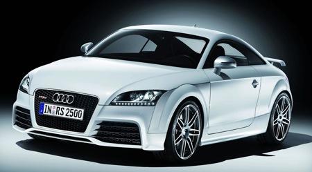 Geneva 2009: Audi presents the high performance TT RS Coupe