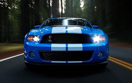 2010 Ford Shelby GT500 Mustang