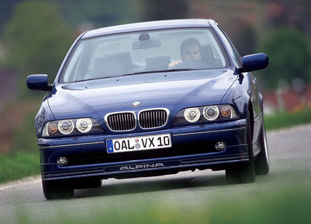 "Bmw E46 M3 Front Bumper E39 Alpina B10 V8 S: the ""automatic"" alternative!"