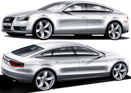 Audi A5 to spawn new C-segt 4-door coupe