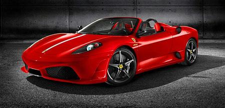 Ferrari 430 16M Scuderia Spider: only 499 units!