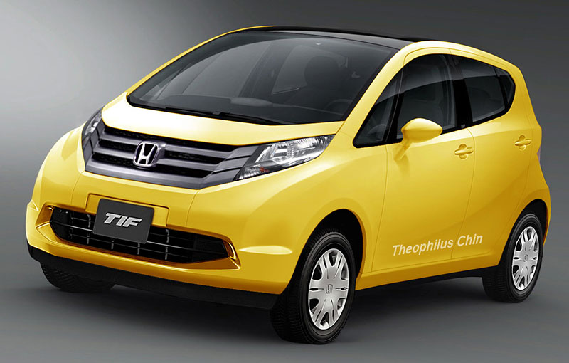 Honda Japan Confirms New A Segment Hatchback Gives Sneak Preview Of Future Products
