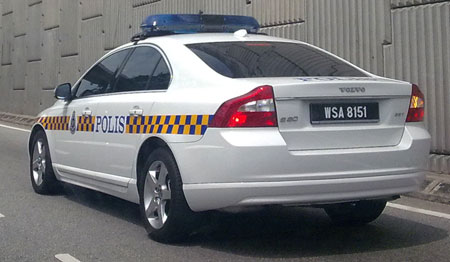 PDRM Volvo S80