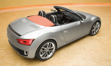 Volkswagen Concept BlueSport Roadster