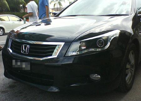 Honda Accord Audi Headlamps