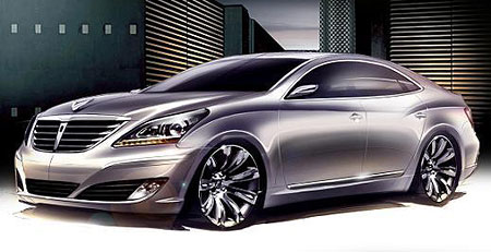The Equus Codenamed Hyundai Vi Will Be S Flagship Luxury Vehicle Positioned Against