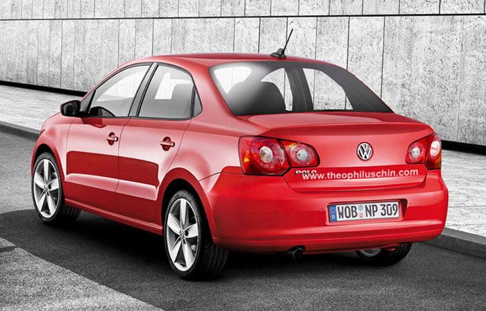 New Generation Volkswagen Polo Classic Sedan