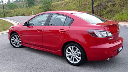 2010 mazda 3 wheel size