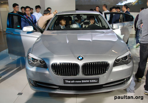 Auto Guangzhou New Bmw 520li Is The Best Example Of Maximum Car