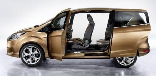 New Ford B Max Mpv Based On Global Fiesta Platform