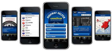 Goodyear desarrolla una app para ofrecer soluciones a los conductores