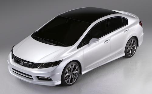 New Honda Civic Concept Revealed At Detroit 2011
