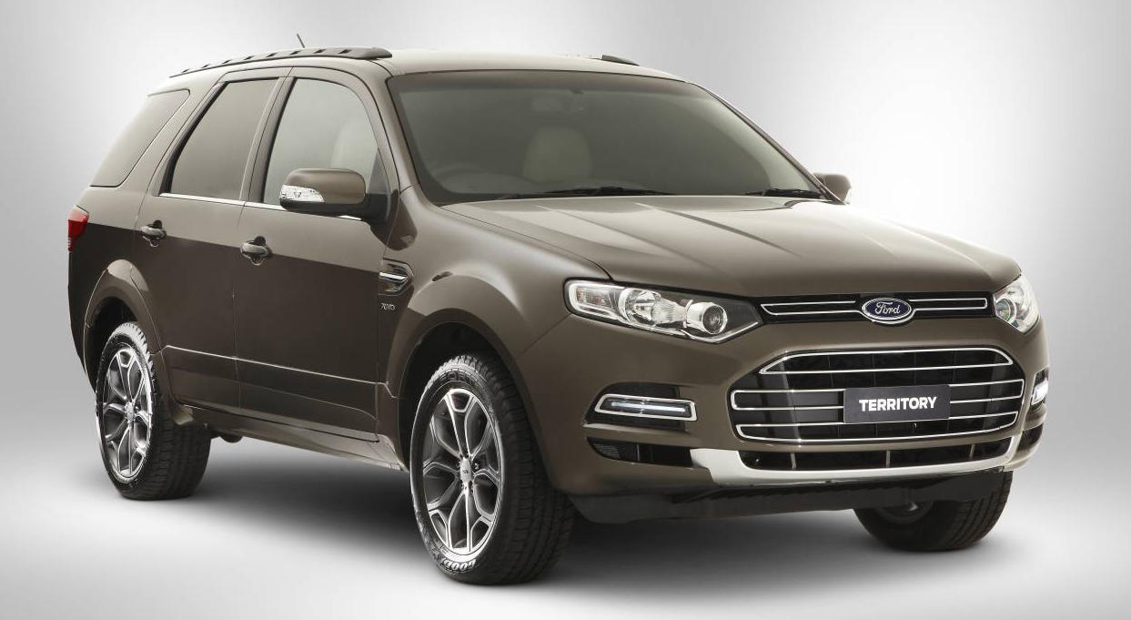 Ford australia introduces new look territory