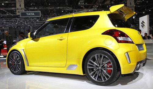 Gallery Live Images Of The Suzuki S Concept At Geneva