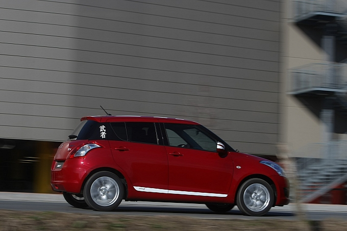 Limited Edition Samurai Design Suzuki Swift For Italy