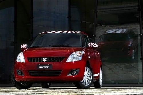 Limited Edition Samurai Design Suzuki Swift For Italy