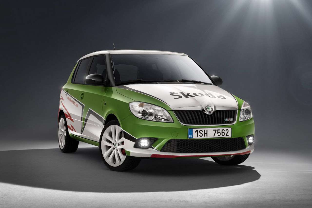 limited edition skoda fabia rs to mark irc double win. Black Bedroom Furniture Sets. Home Design Ideas