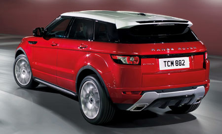 Five Door Range Rover Evoque Revealed Ahead Of La Show