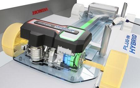 Honda Plug-in Hybrid Platform 1