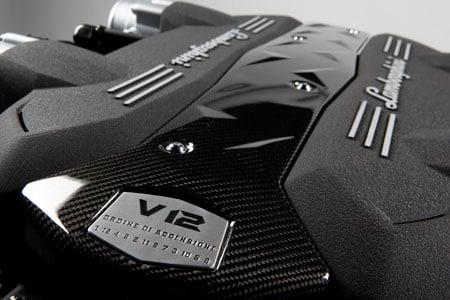Lamborghini Unwraps New 6 5l V12 Engine Isr Gearbox