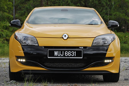 renault megane rs 250 cup test drive review