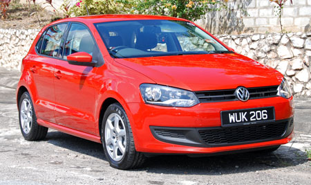 volkswagen polo 1 2 tsi our first impressions. Black Bedroom Furniture Sets. Home Design Ideas