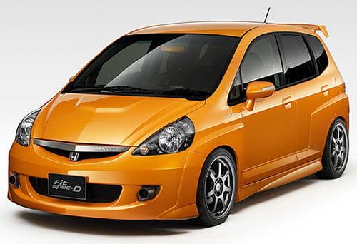 Logbook Honda Fit Mugen Edition: Mugen Fit Spec D Prototype